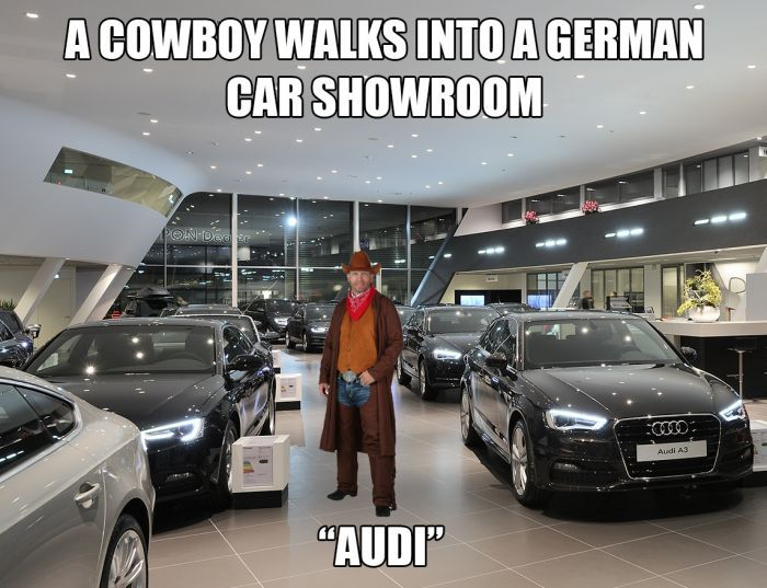 A Cowboy Walks Into Car Guy Memes