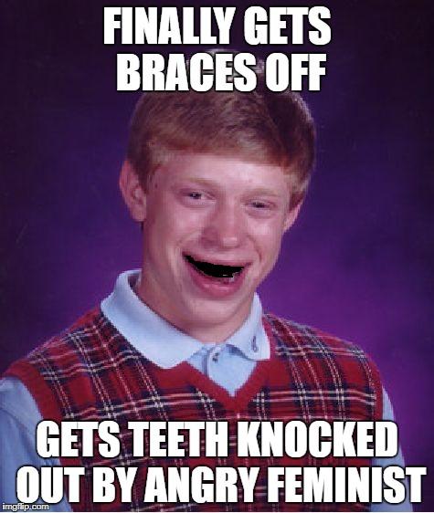 Finally Gets Braces Off Braces Off Meme