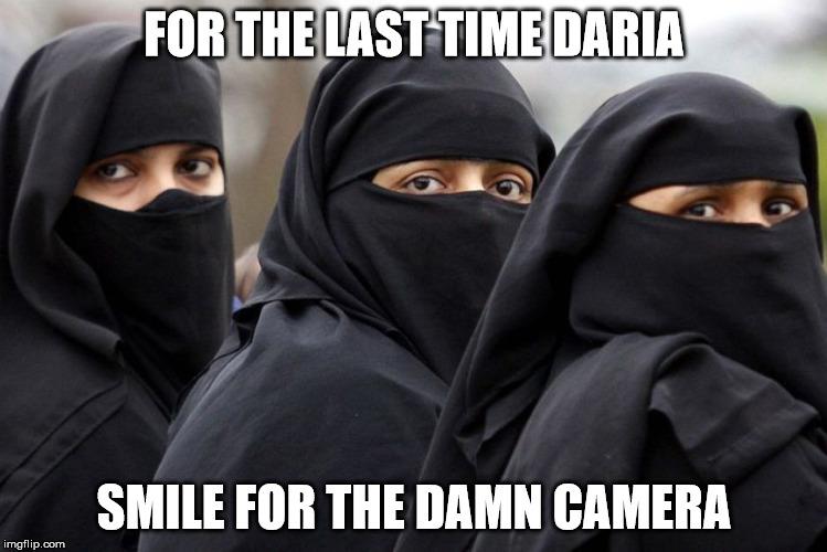 For The Last Time Burka Meme