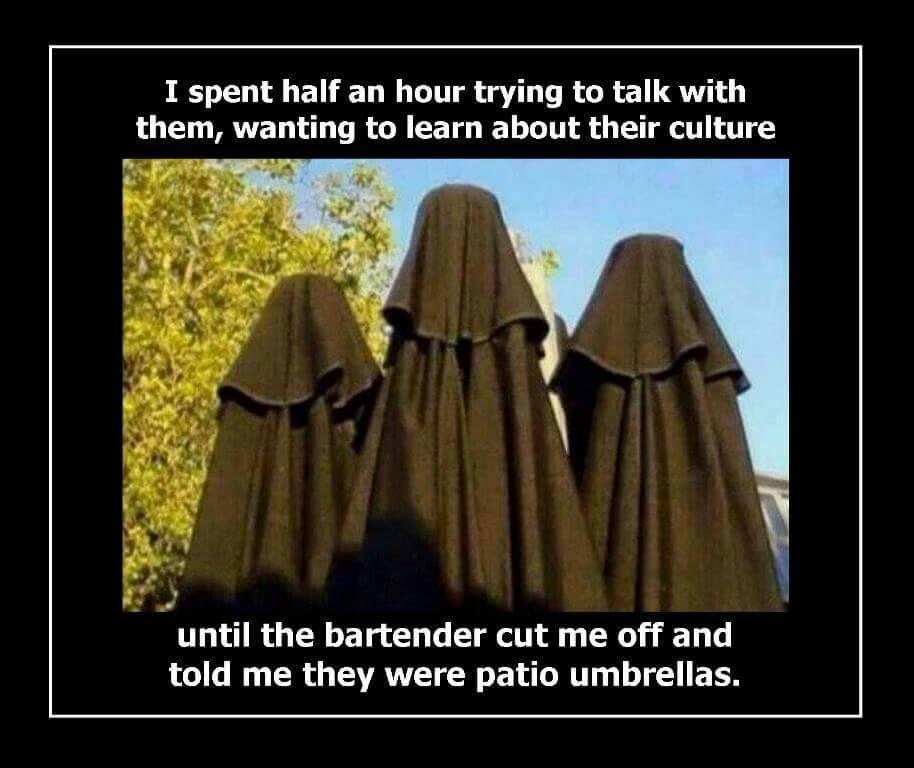 I Spent Half An Burka Meme