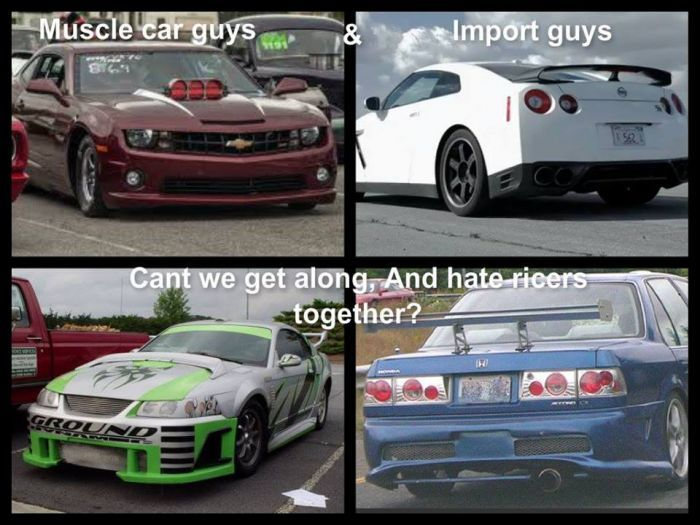 Muscle Car Guys Import Car Guy Memes
