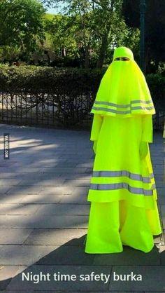 Night Time Safety Burka Burka Meme