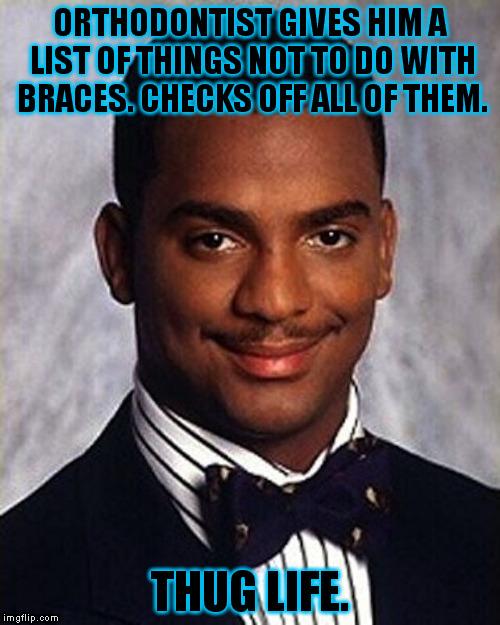 Orthodontist Gives Him A Braces Off Meme