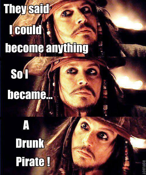 They Said I Could Captain Jack Sparrow Meme