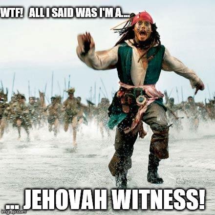 WTF! All I Said Captain Jack Sparrow Meme