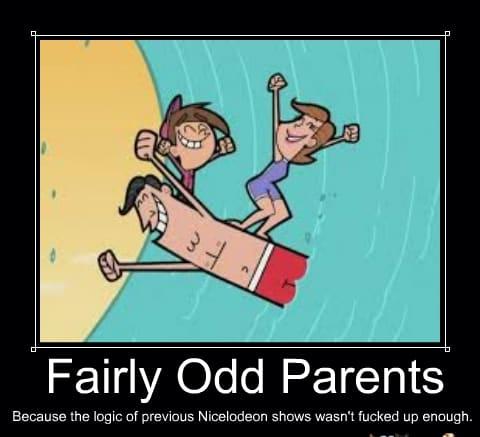 Fairly Odd Parents Because Cartoon Meme