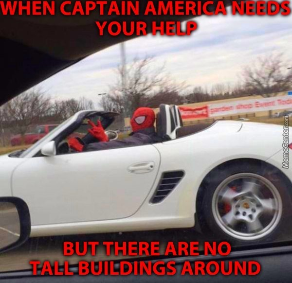 When Captain America Needs Cars Movie Memes